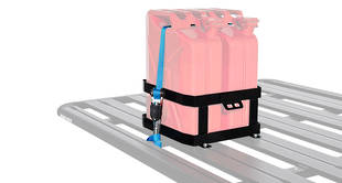 Rhino-Rack Double Vertical Jerry Can Holder