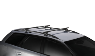 Thule Square Bar 7104 Rail Mount